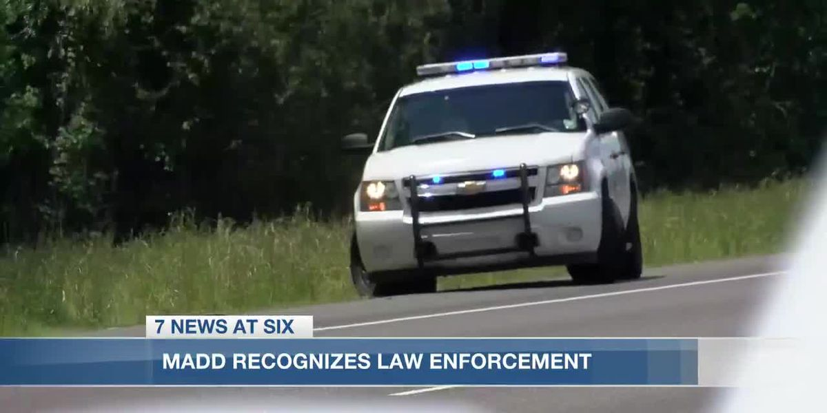 MADD recognizes local law enforcement drunk driving efforts
