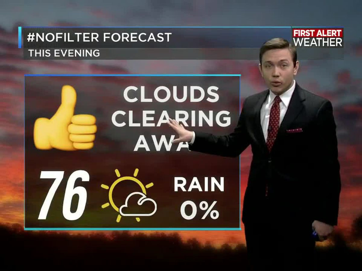 First Alert Forecast: Rain is gone; sunshine returns through the weekend
