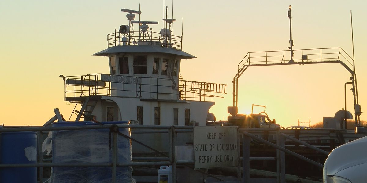 Temporary ferry closure affects Cameron Parish residents