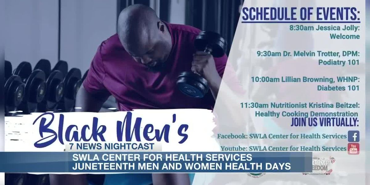 SWLA Center for Health Services holding men's and women's health days