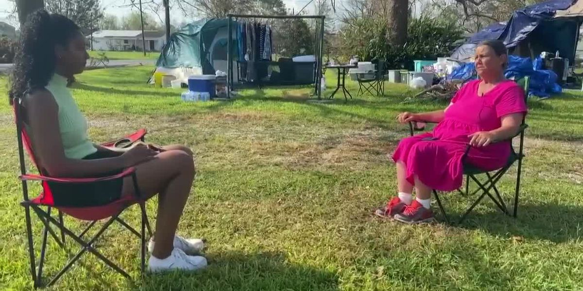 SWLA resident makes the best out of losing her home
