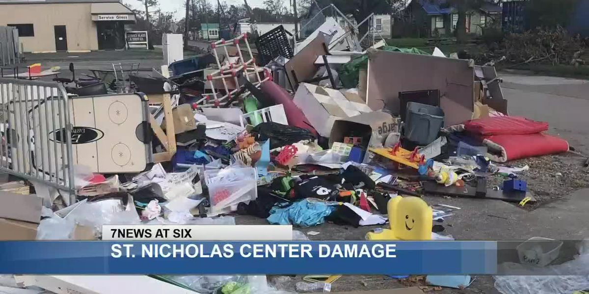 St. Nicholas Center for Children works to rebuild after Hurricane Laura