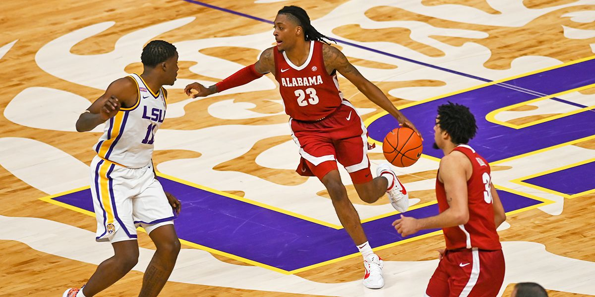 Petty leads No. 18 Alabama in 105-75 blowout win over LSU