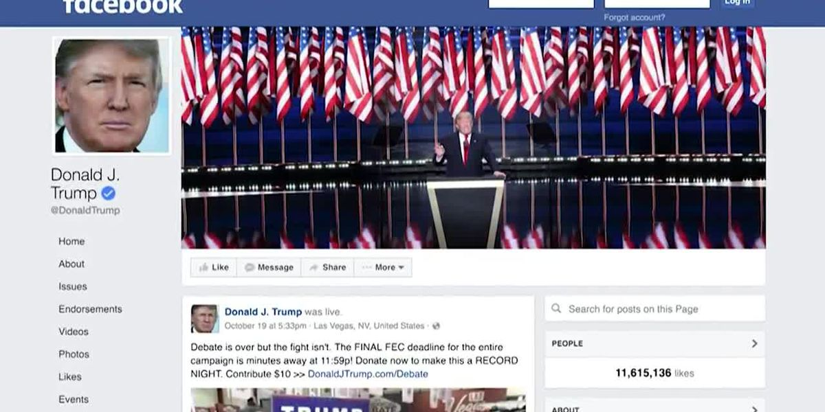 Trump Facebook block upheld, review ordered