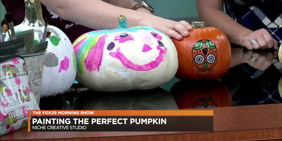Forget carving! Try painting pumpkins for fall holiday season