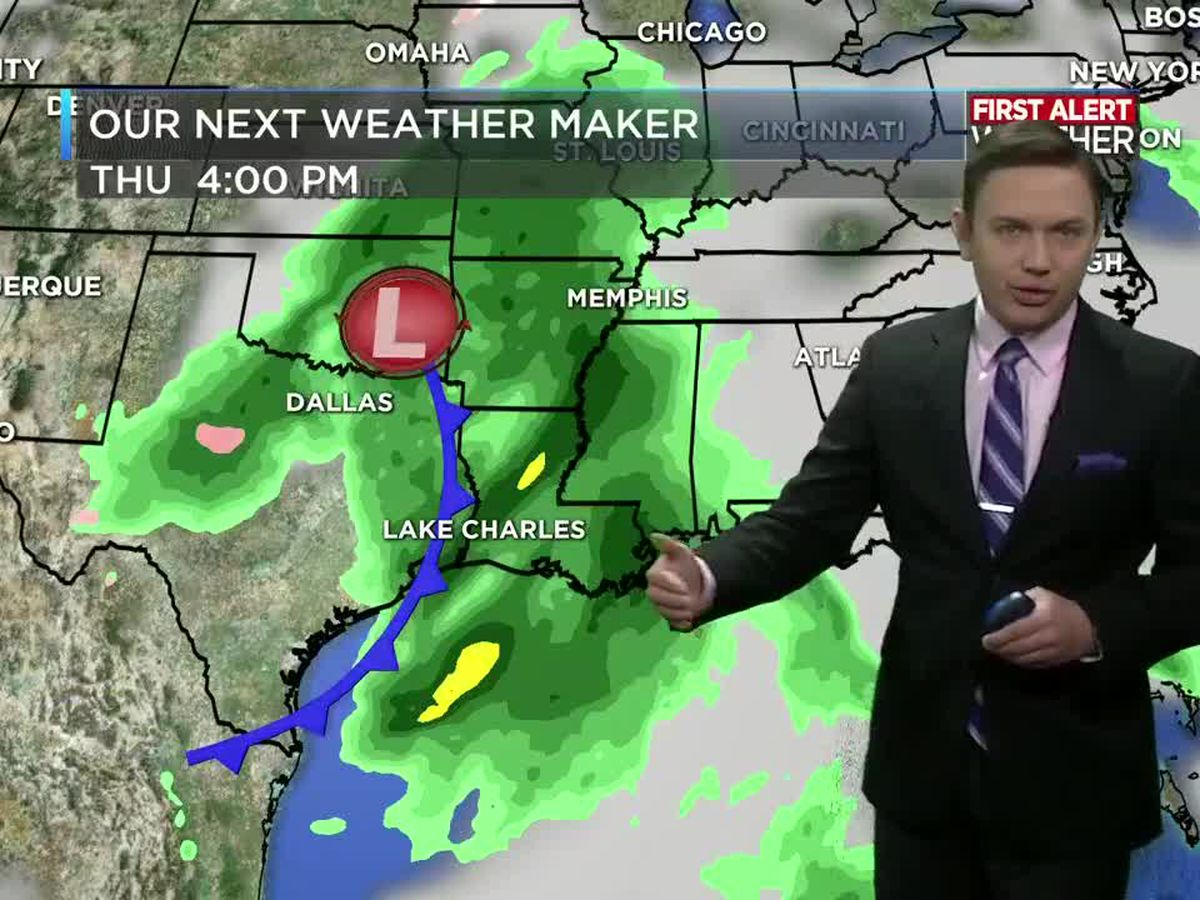 First Alert Forecast: Warming trend underway before the rain returns Thursday