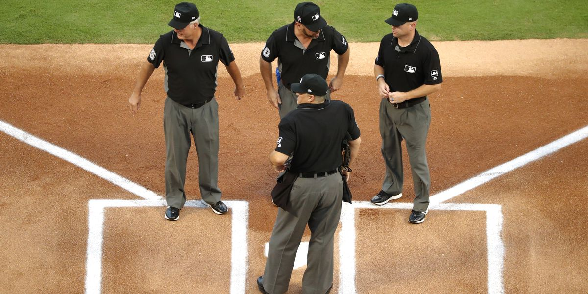AP Exclusive: Computer plate umps allowed in new labor deal