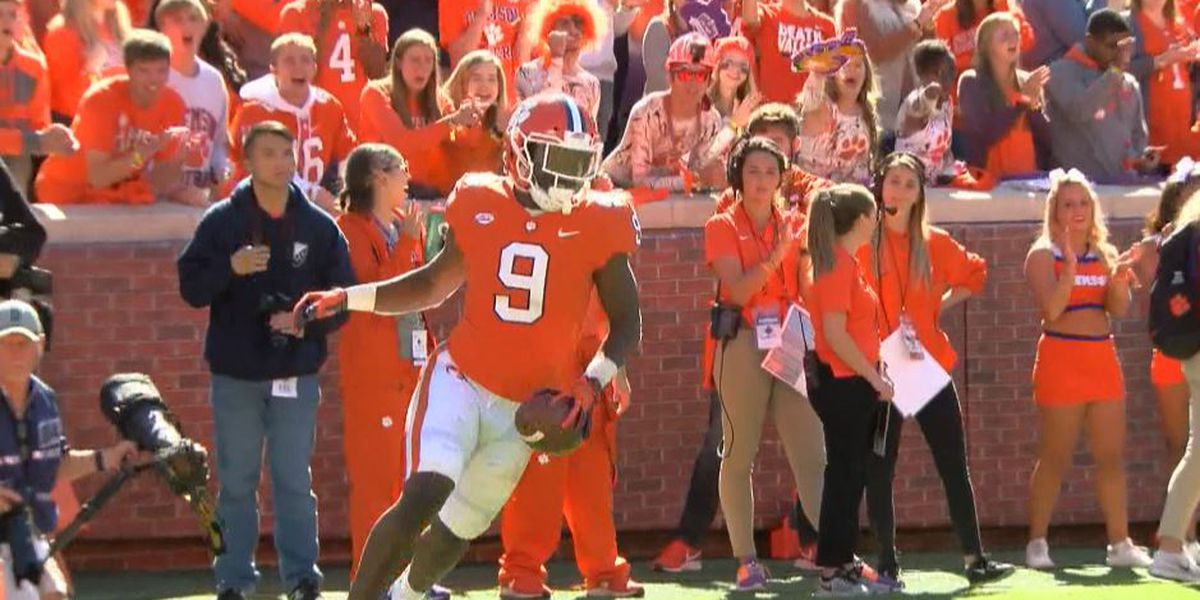 Jennings native Travis Etienne named ACC Player of the Year