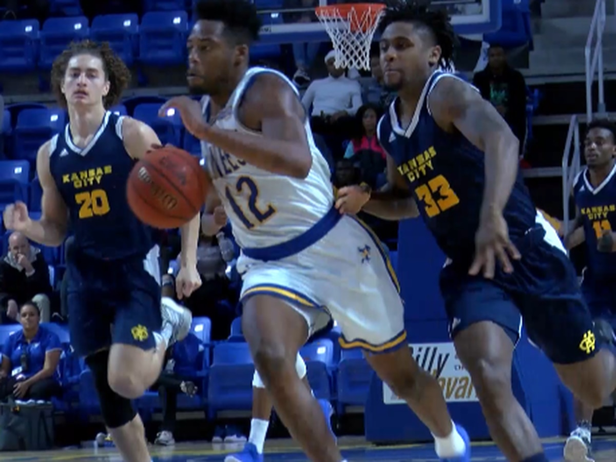 Lawson's 30, Kennedy's triple-double leads McNeese to 82-73 win over KC