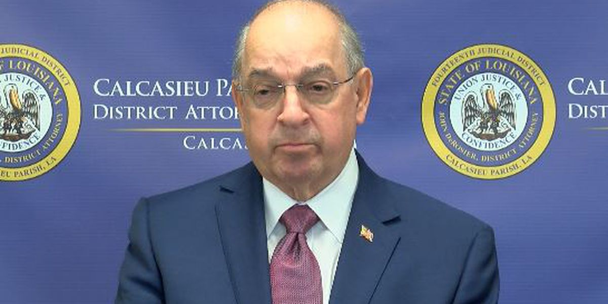 Calcasieu District Attorney John DeRosier retiring at end of 2020
