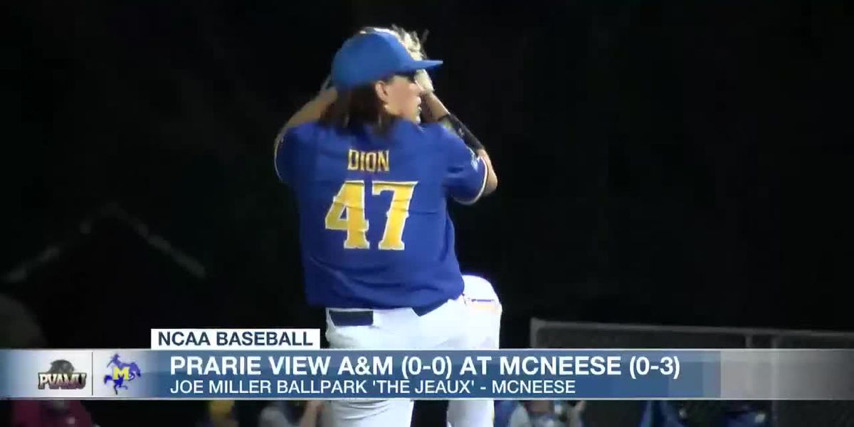 Dion ties McNeese record with 19 strikeouts as Cowboys win home opener over Prairie View