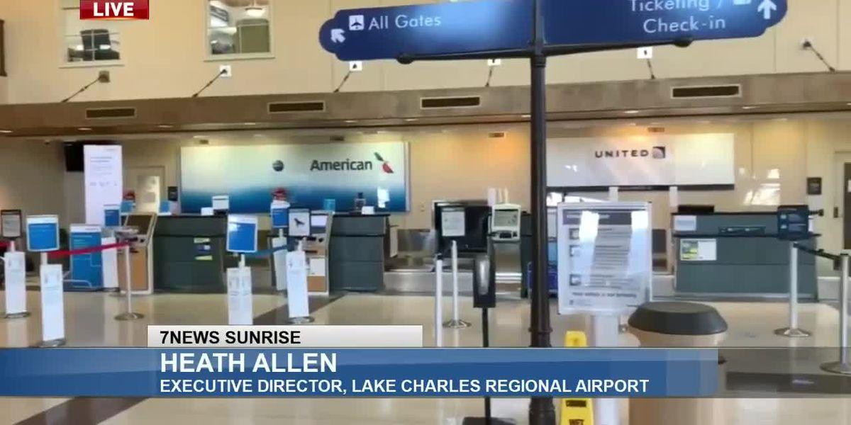 Sunrise Interview: Heath Allen with Lake Charles Regional Airport - Sept. 15, 2020