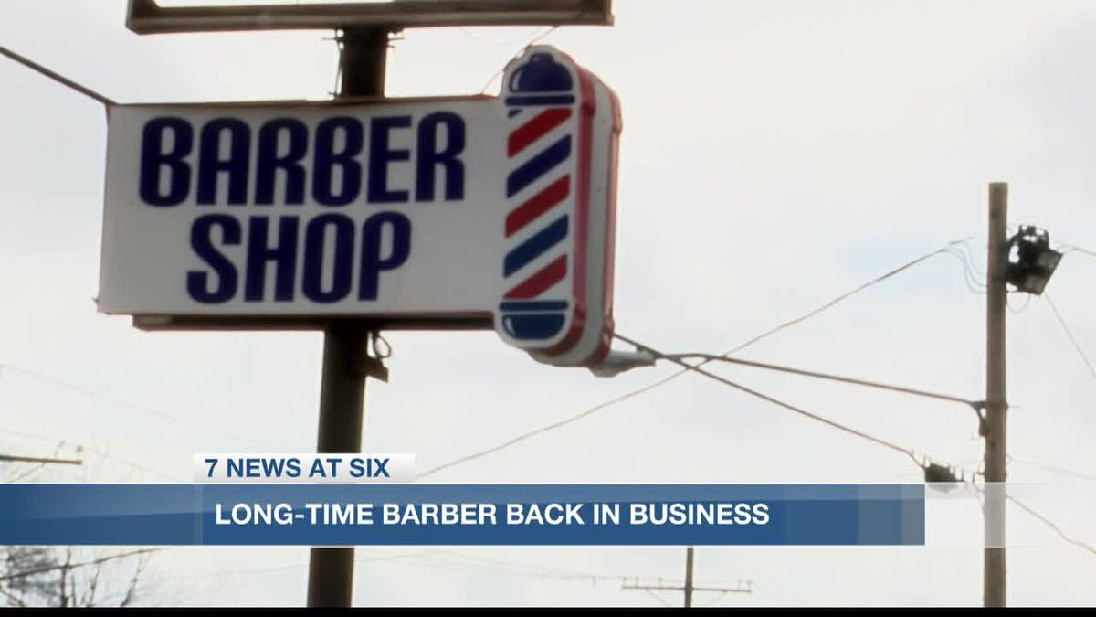 Westlake barber continues to work after shop destroyed in hurricanes