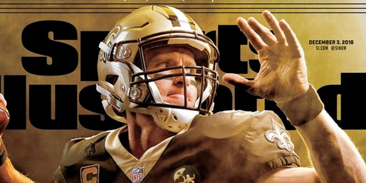 Drew Brees featured on cover of Sports Illustrated