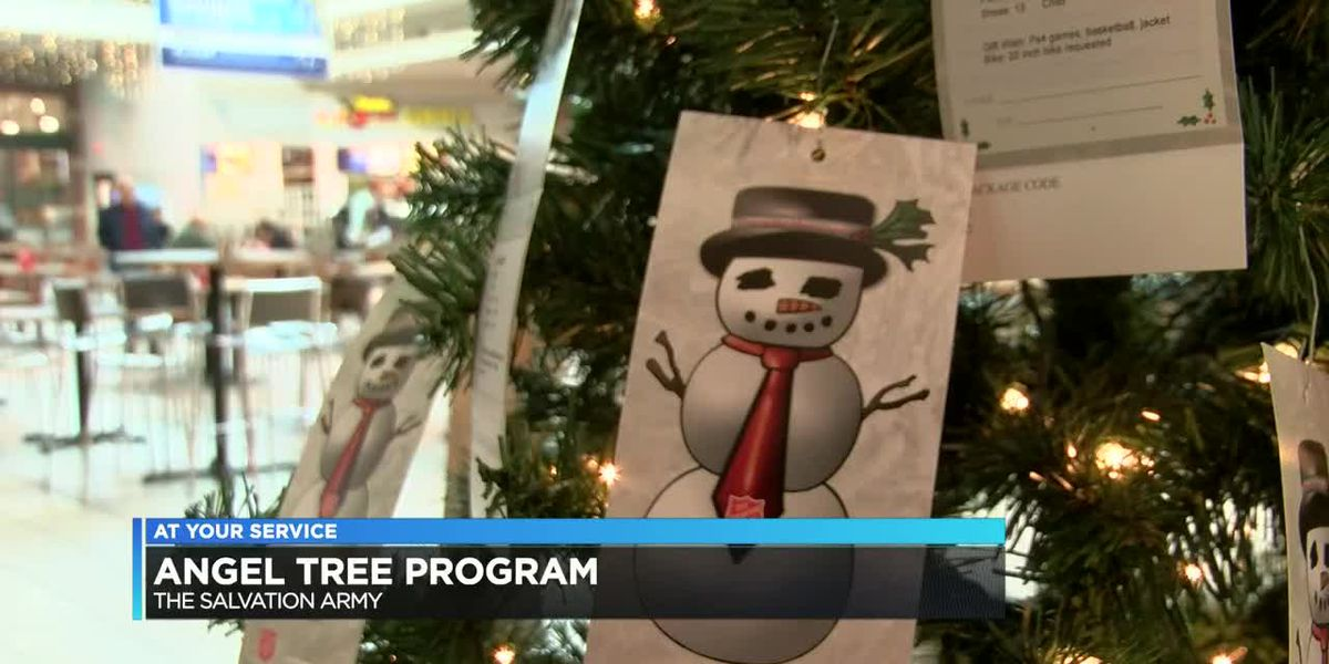 Angel Tree Program: The Salvation Army seeks donors to adopt over 180 remaining angels