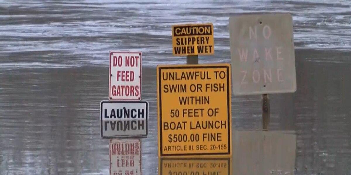 Niblett's Bluff Park sees flooding