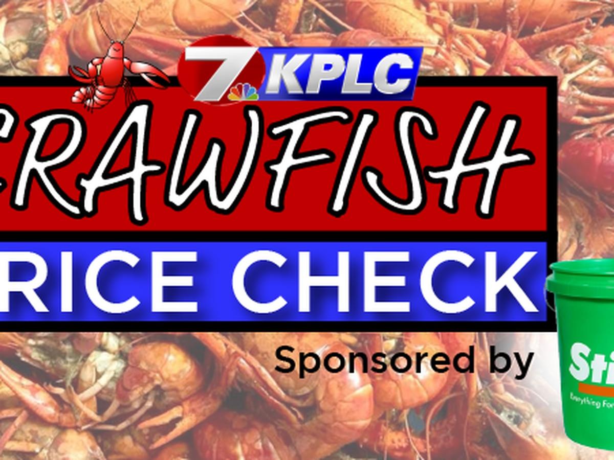 KPLC's 2020 Crawfish Price Check