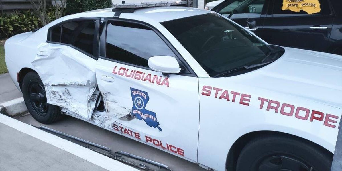 Sulphur man arrested after allegedly hitting State Trooper while impaired on I-210