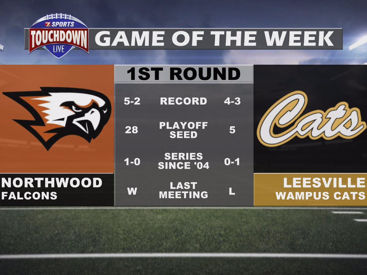 Northwood at Leesville named TDL Game of the Week for the first round of the playoffs