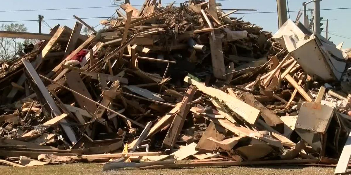 DeRidder completes removal of construction debris, pickup of vegetative debris still underway