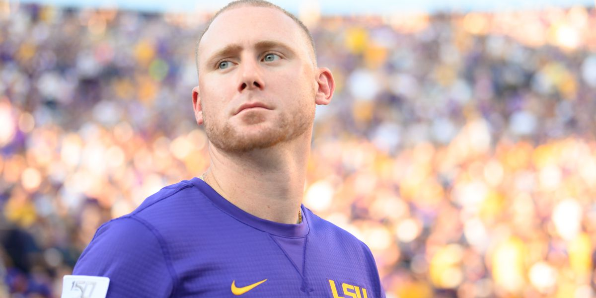 LSU assistant Joe Brady named finalist for Broyles Award