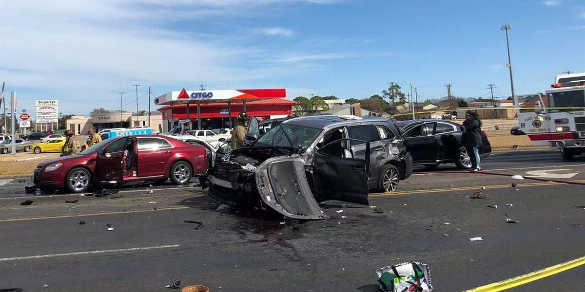 Police respond to crash in Port Arthur, discover gunshot victim