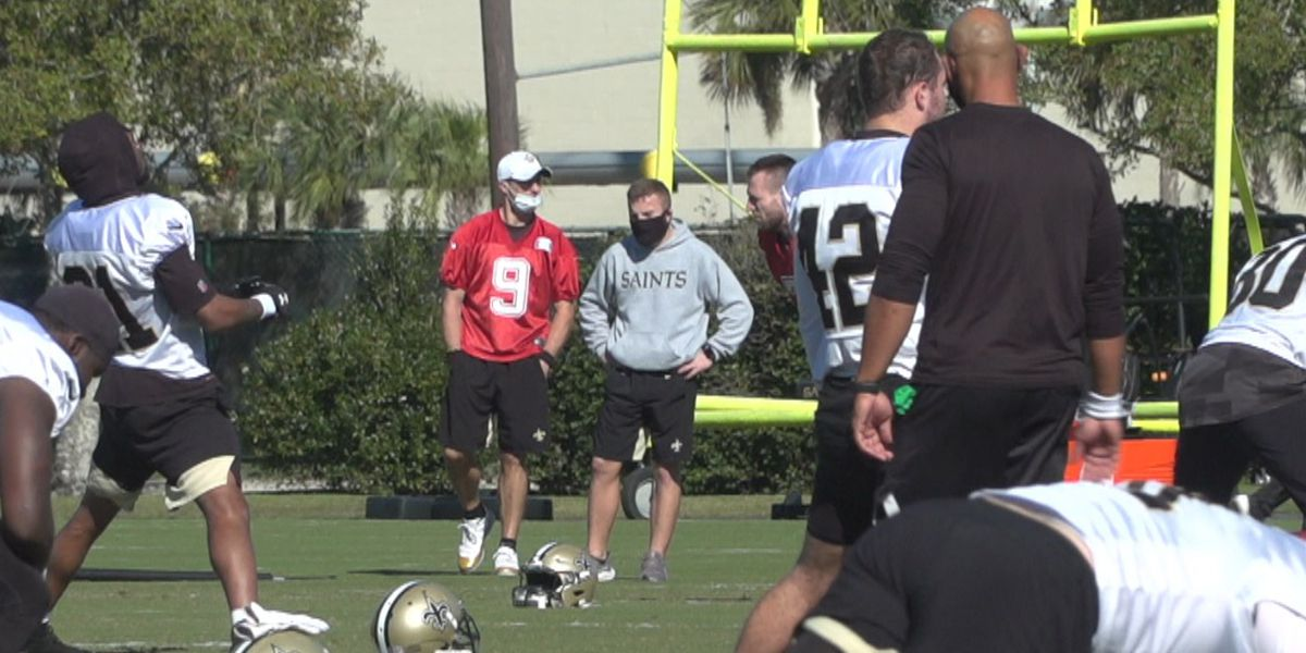 Brees, Jordan and three others did not practice for Saints Wednesday