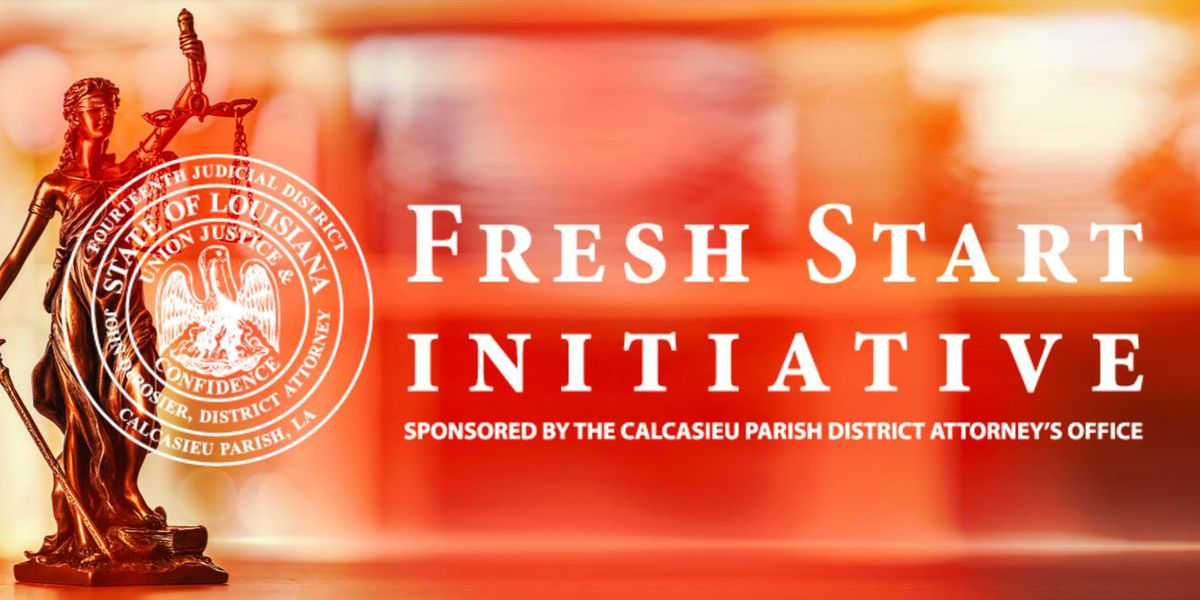 Fresh Start Initiative offers some in Calcasieu chance to clear record