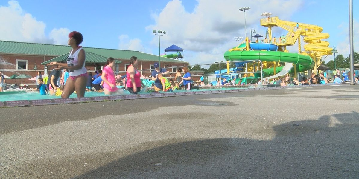Sulphur water park opens early for those with special needs