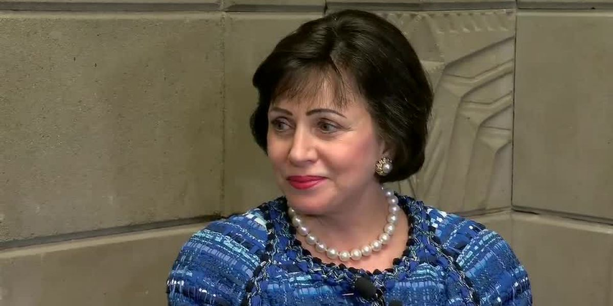 Saints owner Gayle Benson reflects on her first year as sole owner