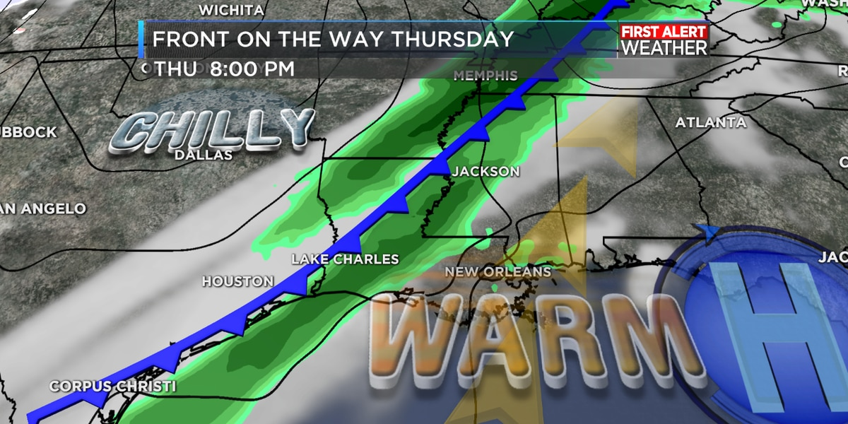 FIRST ALERT FORECAST: Dense morning fog; warm with a shower possible today