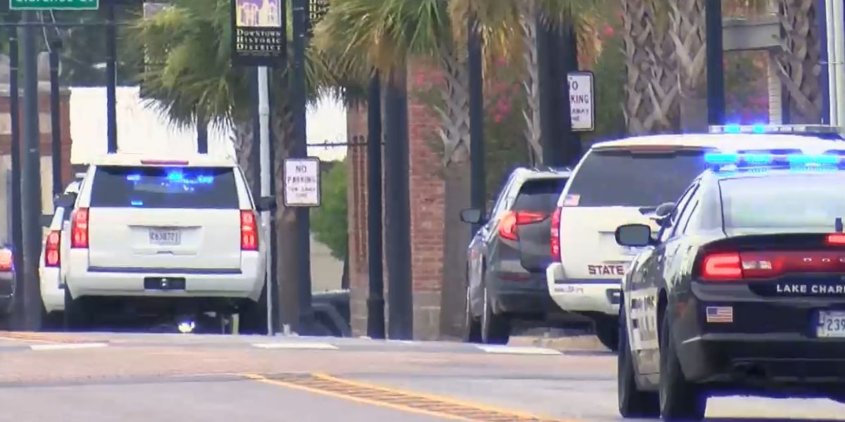 Police chase in Lake Charles