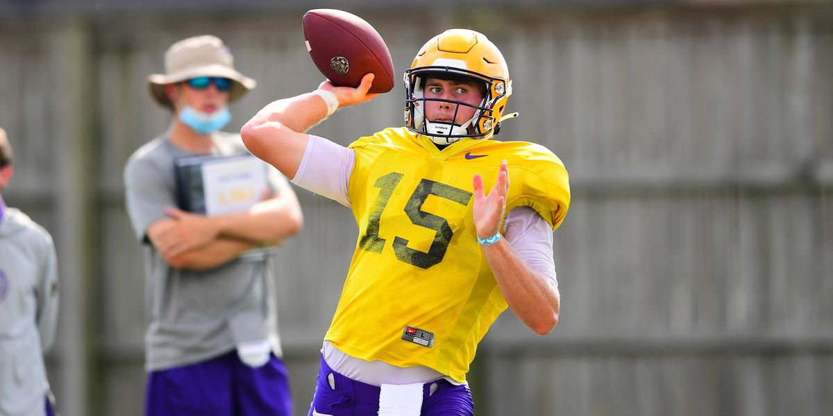 Myles Brennan reflects on a long road to be QB1 at LSU