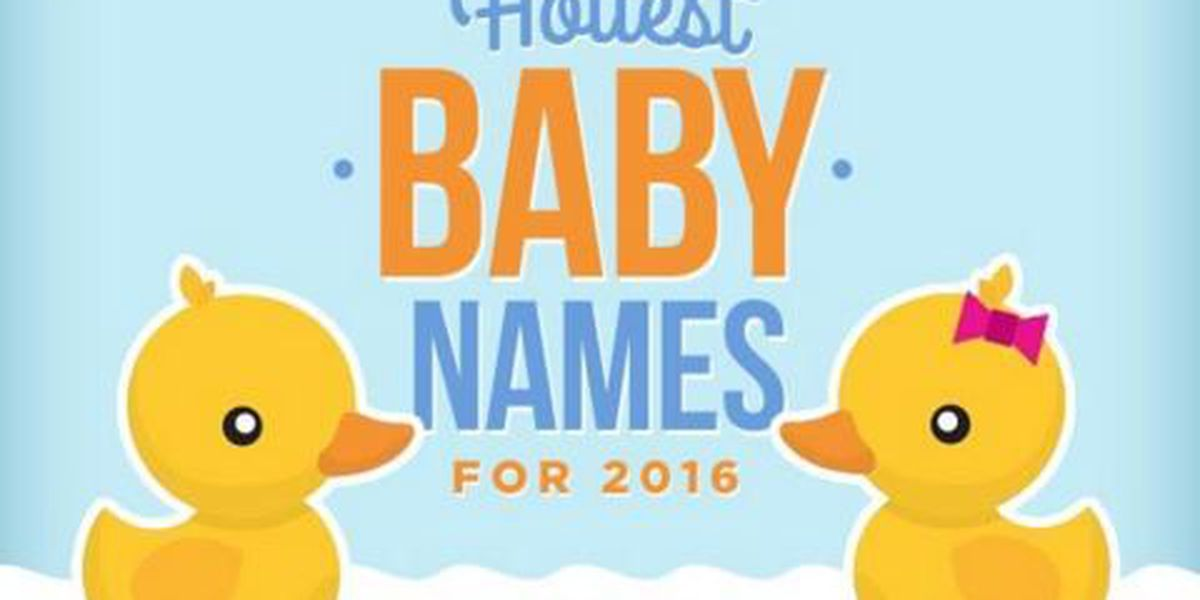 SLIDESHOW: The hottest baby names for 2016