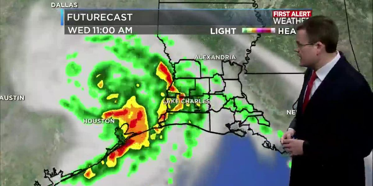 FIRST ALERT FORECAST: Rain quickly arrives to start the day; some flooding possible through Thursday