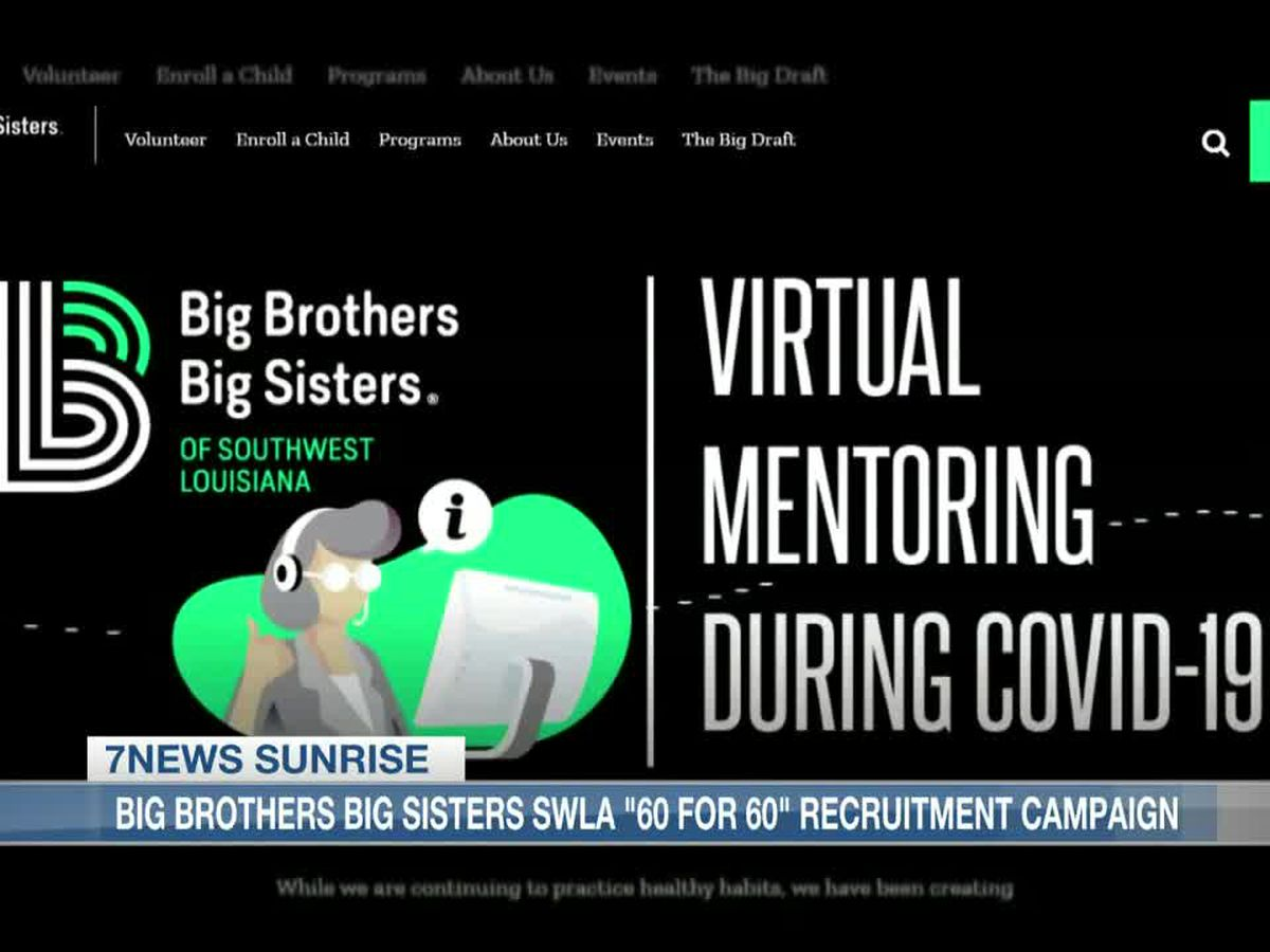 """""""60 for60″ recruitment drive for Big Brothers Big Sisters"""
