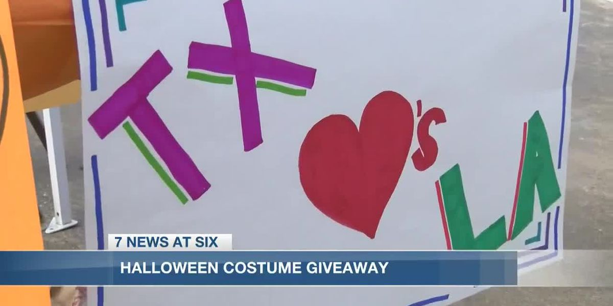 Houston nonprofit donates costumes to Lake Area children ahead of Halloween