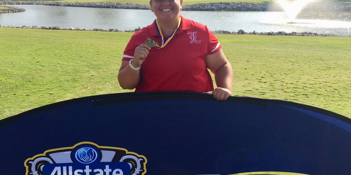 Lacassine's Carly Whittington wins Division II individual golf championship