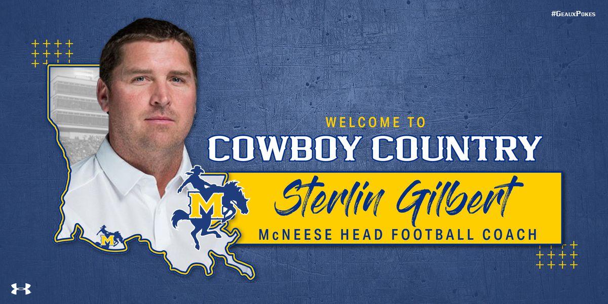 McNeese names Sterlin Gilbert as its head football coach