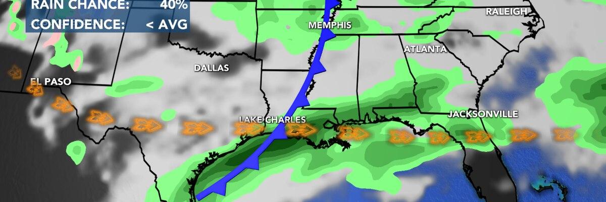 First Alert Forecast: Rain will remain an issue through Saturday...