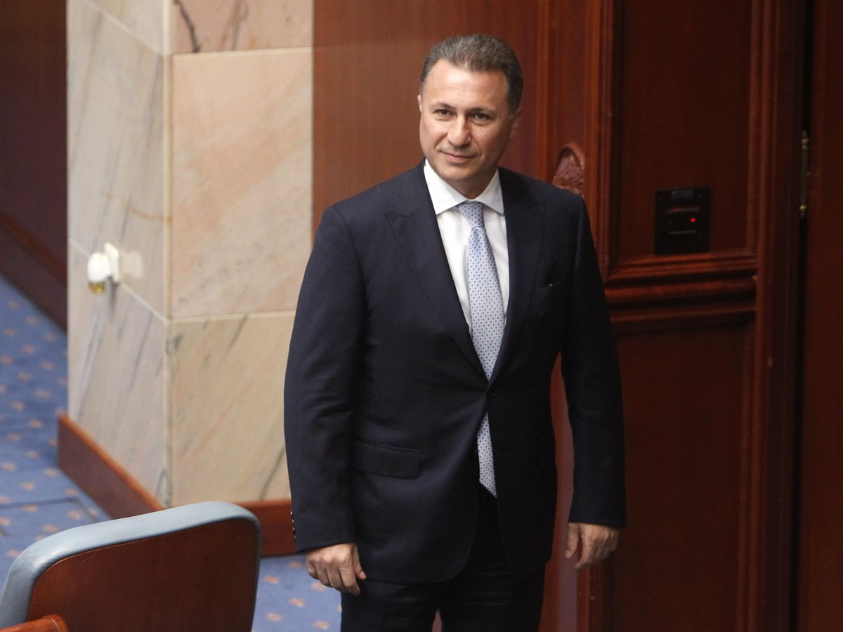 Macedonia formally demands return of fugitive ex-premier