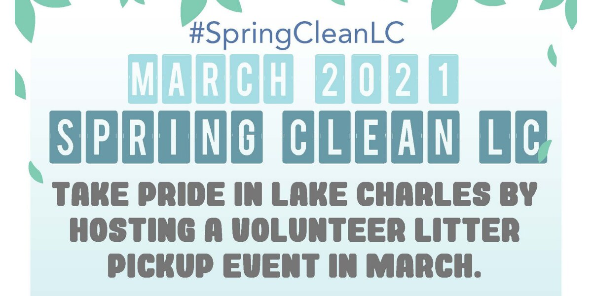 Volunteers needed for Spring Clean LC initiative