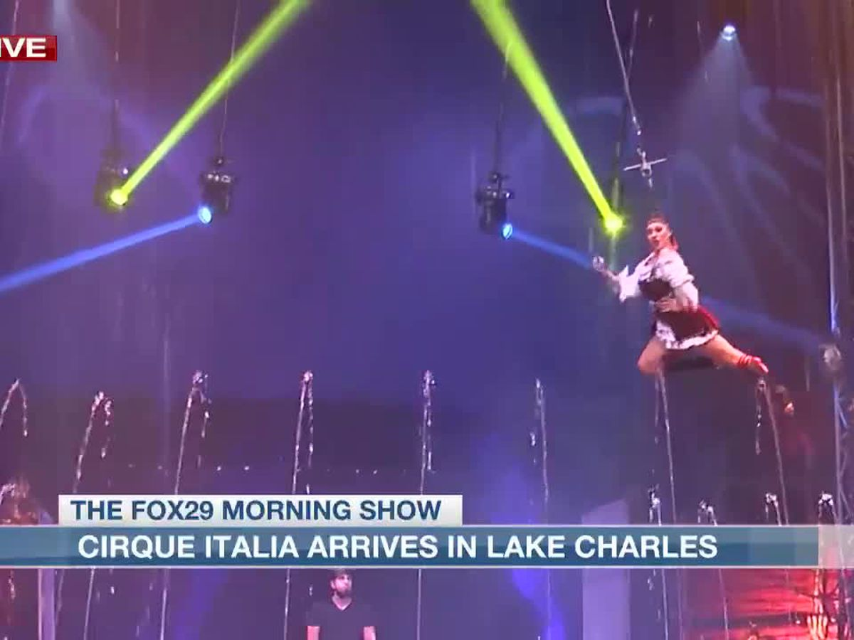 Cirque Italia arrives in Lake Charles