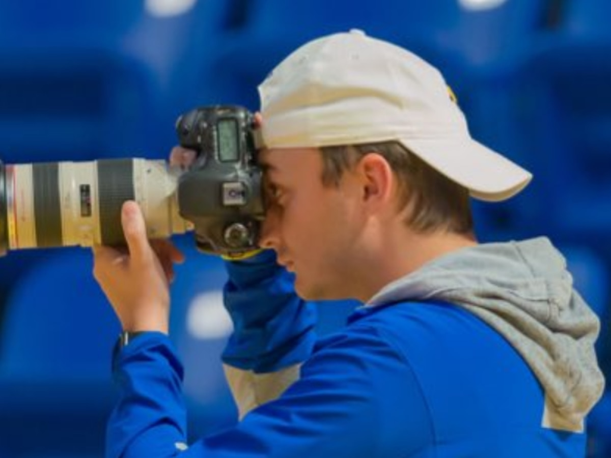 VIRAL: Stuck-at-home McNeese photographer turns to shooting sports on TV