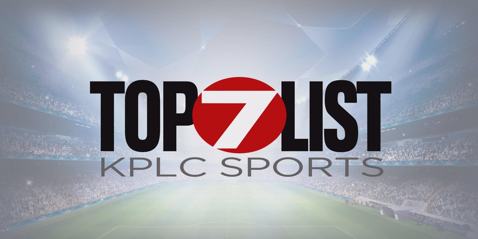 Touchdown Live Top 7 List - Week 8