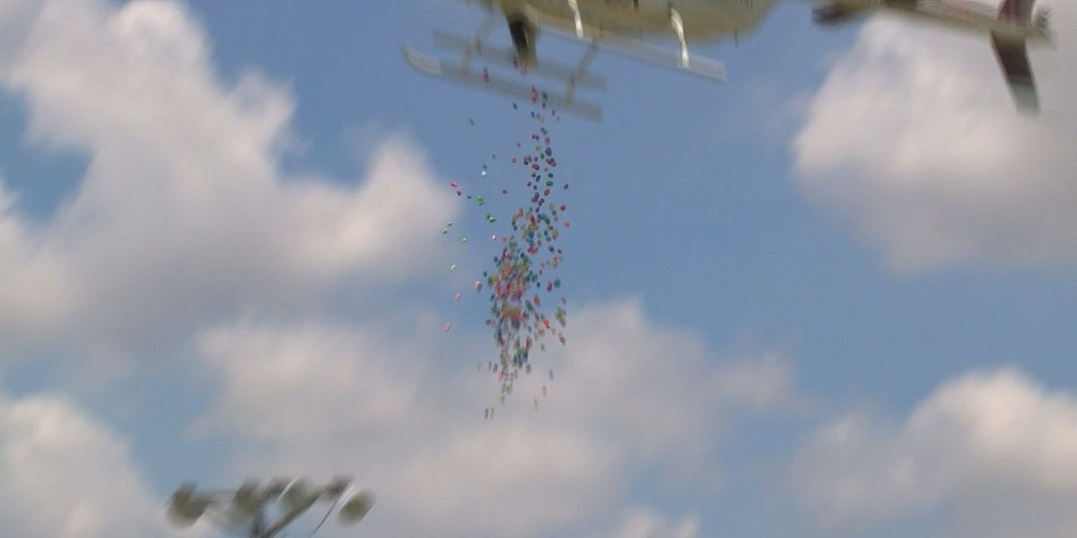 Helicopter to drop 50,000 eggs at EggDrop Eggstravaganza in Jennings