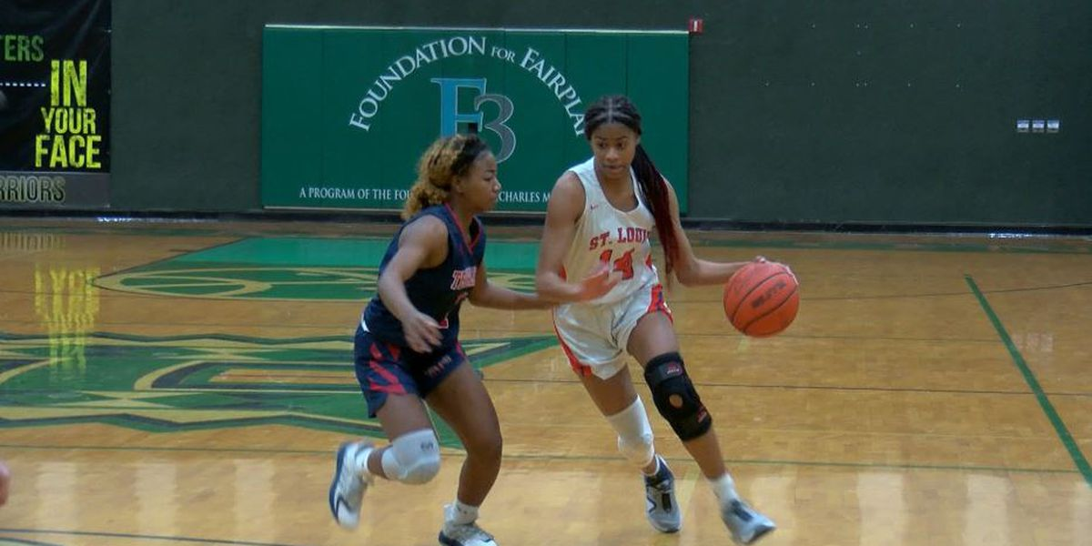 St. Louis rolls Teurlings Catholic as LHSAA girls basketball playoffs continue