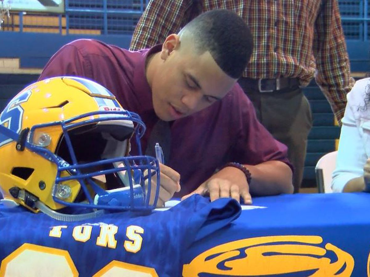 Sulphur alum LaColby Tucker commits to Utah to play football
