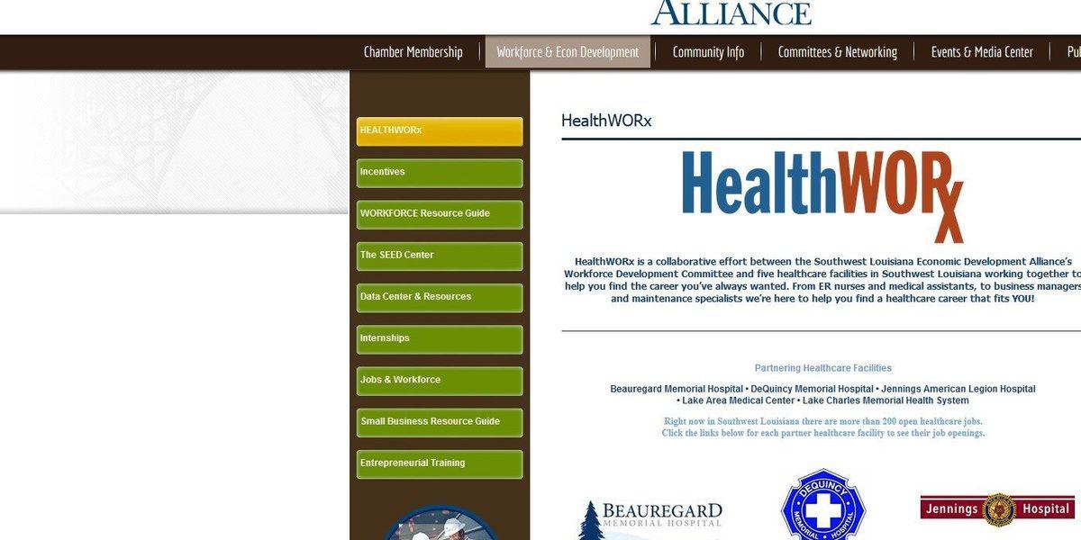 High demand for healthcare jobs