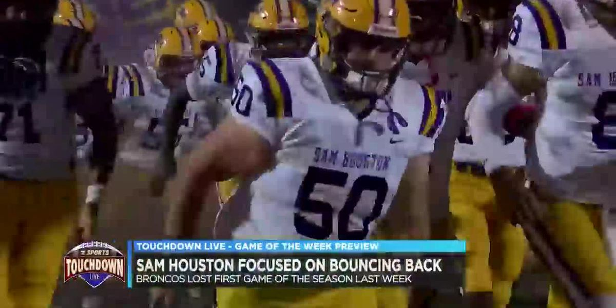 Sam Houston focused on bouncing back following loss to Acadiana